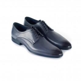 chaussure business derby en cuir anthracite_3-4-1