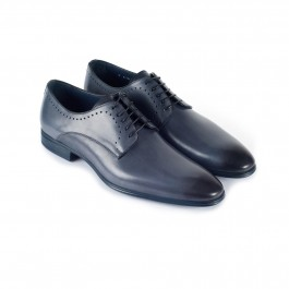 chaussure business derby en cuir anthracite_3-4-1
