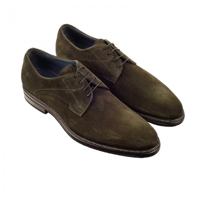 separation shoes 7e005 311c6 Business-Schuhe Derby Grün Leder