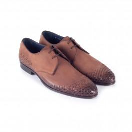 chaussure business derby en cuir brun_3-4-1