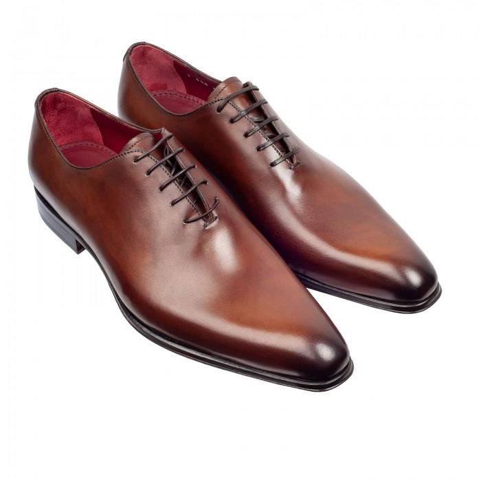 buy popular f93b5 a4a97 Business-Schuhe Richelieu Braun Leder