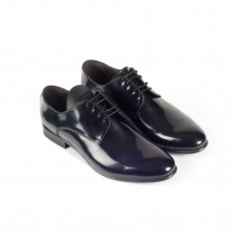 chaussure business derby en cuir marine_3-4-1