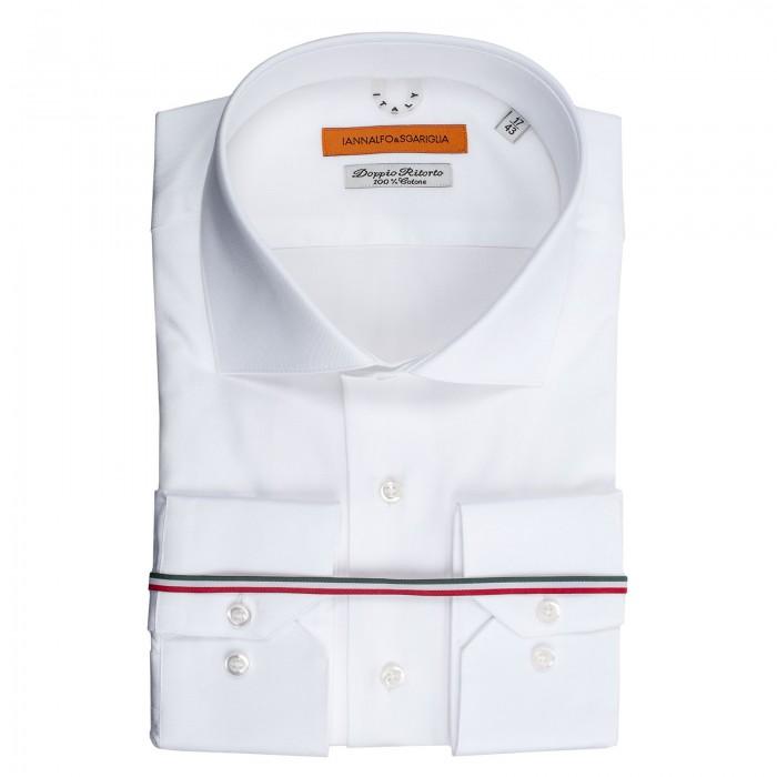 3002fc955221b Prêt à Porter Chemise Business Blanc Slim col italien