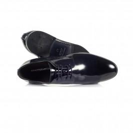 chaussure business derby en cuir marine_HAUT-1