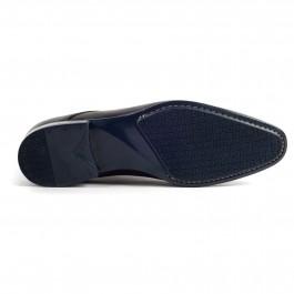 Chaussures business Derby en cuir Noir_semelle