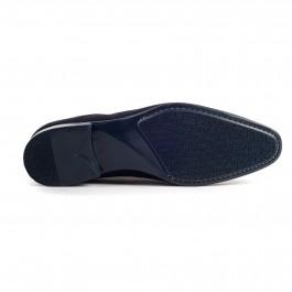Chaussures business Derby en cuir marine_semelle