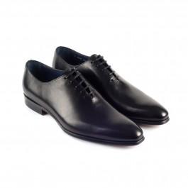 chaussure business richelieu en cuir noir_3-4