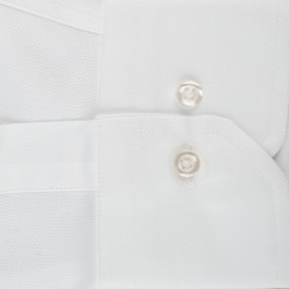 Chemise Business Blanche Regular Col Italien_MANCHE