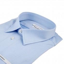 Chemise Business bleu ciel regular Col classique_COL