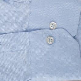 Chemise Business bleu ciel regular Col classique_MANCHE