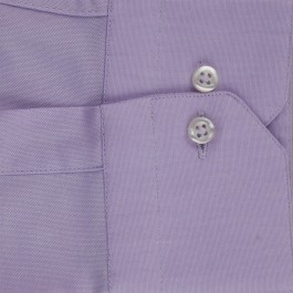 Chemise business lila extra slim col italien_MANCHE