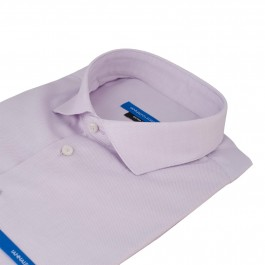 chemise business lila extra slim col italien_COL
