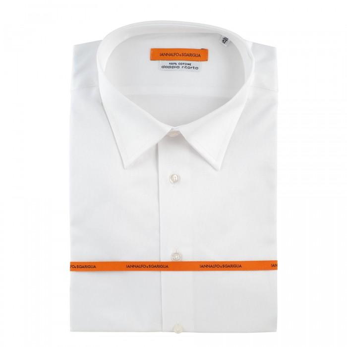 chemise business blanche slim col classique_FACE