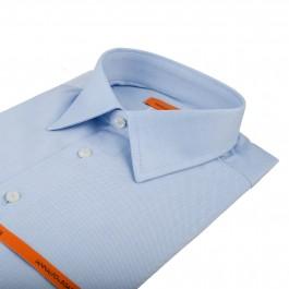 chemise business bleu ciel slim col classique_COL