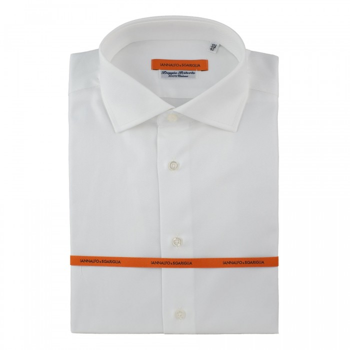chemise business blanche slim col italien_FACE