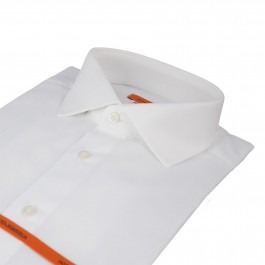 chemise business blanche slim col italien_COL