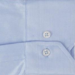 chemise business bleu ciel slim col italien_MANCHE