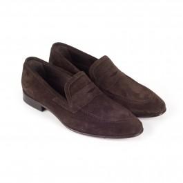 chaussure business mocassin en cuir brun_3-4-1