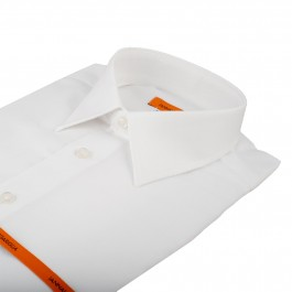 chemise business blanche slim col classique_COL