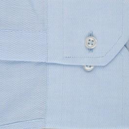 chemise business bleu ciel slim col classique_MANCHE