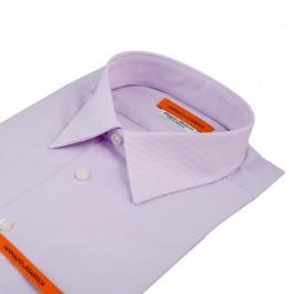 chemise business lila slim col classique_COL
