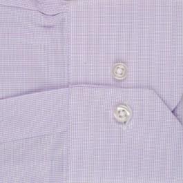 chemise business lila slim col classique_MANCHE