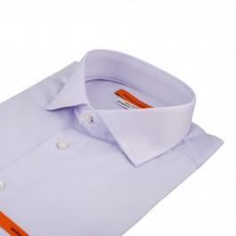 chemise business lila slim col italien_COL
