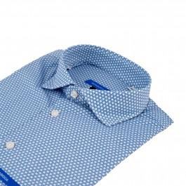 chemise casual bleu ciel extra slim col italien_COL
