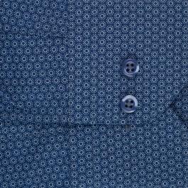 chemise casual marine extra slim col italien_MANCHE
