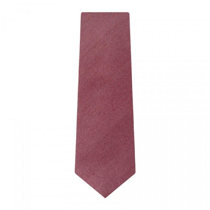 cravate slim bordeaux faux uni_ROLL