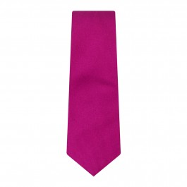 cravate slim fuchsia faux uni_ROLL