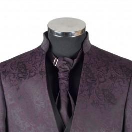 Costume business bordeaux slim cérémonie_COL