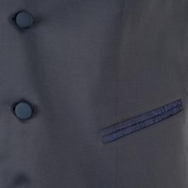Costume business marine slim cérémonie_VESTON-POCHE