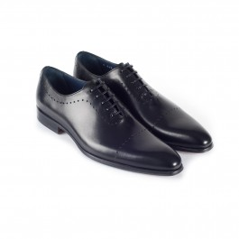 chaussure business richelieu en cuir noir_3-4-1
