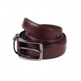 ceinture cuir lisse brun_ROLL-1