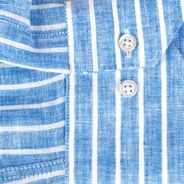 chemise casual bleu ciel slim col italien_MANCHE-1