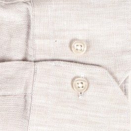 chemise casual beige slim col italien_MANCHE-1