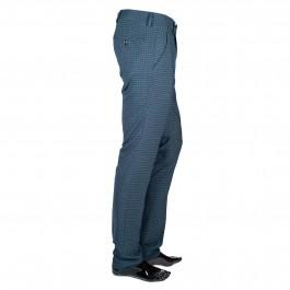 Pantalon laine slim marine_COTE-1