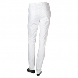 Pantalon Casual Blanc Slim_BACK-1