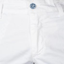 Pantalon Casual Blanc Slim_BOUTONIERE-1