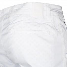 Pantalon Casual Blanc Slim_POCHE-1
