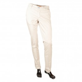 Pantalon Casual Beige Slim_FRONT-1