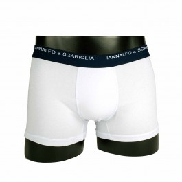 Pack 3 Boxers Blanc Coton Polyamide_face-1