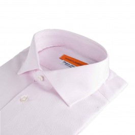 Chemise Business Rose Slim col italien_3-4-1
