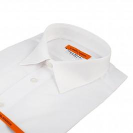 Chemise business blanche slim sol classique_COL