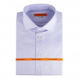 Chemise Business Lilas Slim col italien_Full