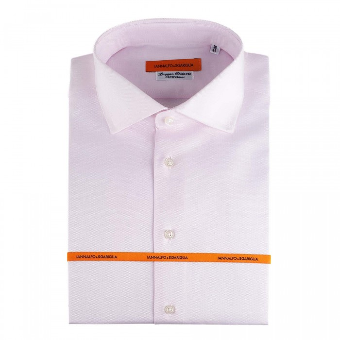 Chemise Business Rose Slim col italien_Full