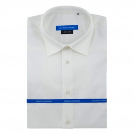 Chemise business Blanche extra slim col classique_Full