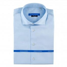 Chemise business bleu ciel Extra slim col italien_Full