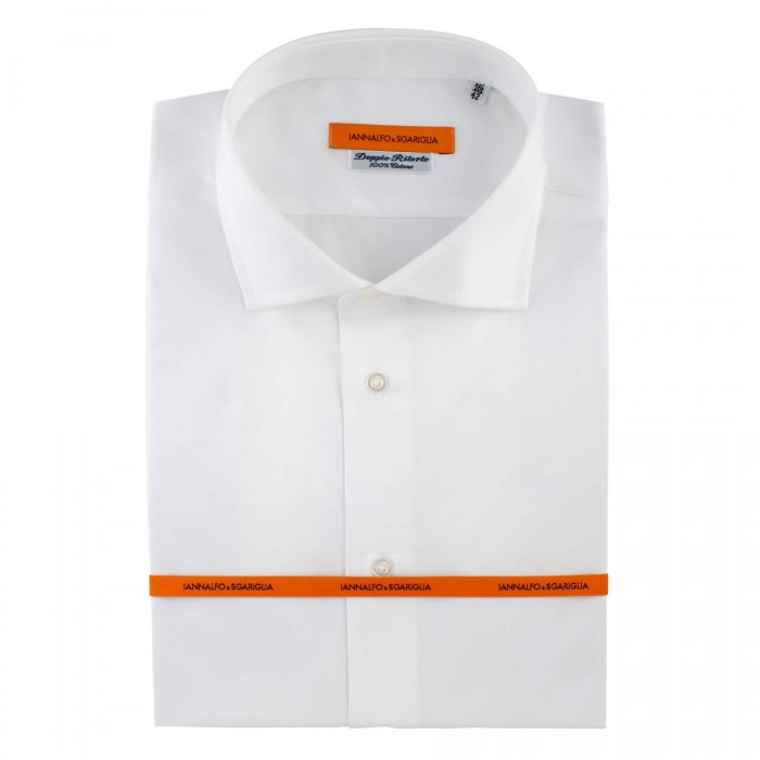 chemise business blanche slim col italien_Full